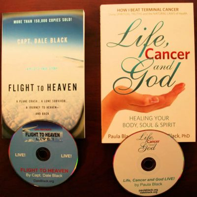 COMBO PACK: Flight to Heaven AND Life, Cancer and God