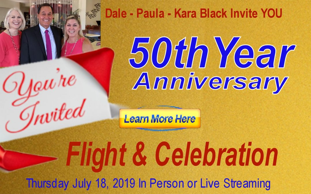 50 Year Anniversary Flight & Celebration – Paula Black