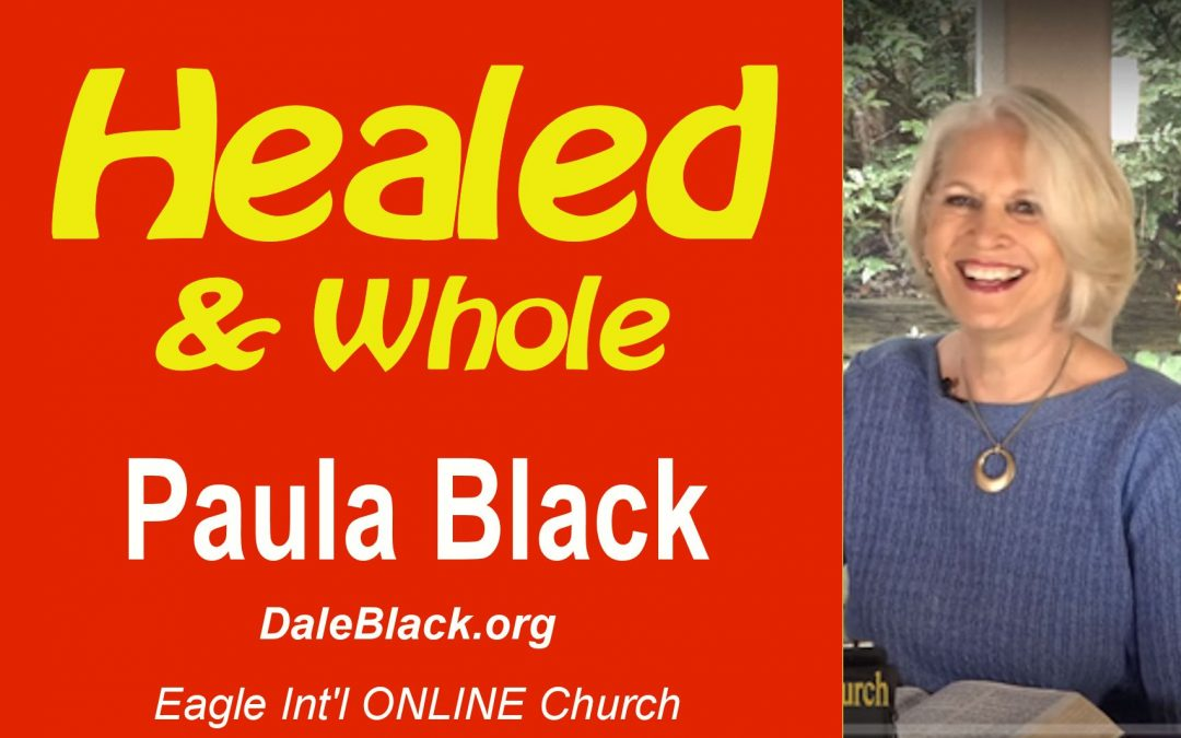 Healed and Whole – Paula Black