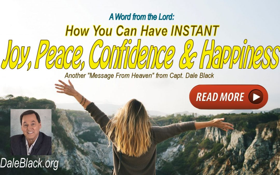 """A 'Word from the Lord"""" July 18, 2021 – Dale Black"""