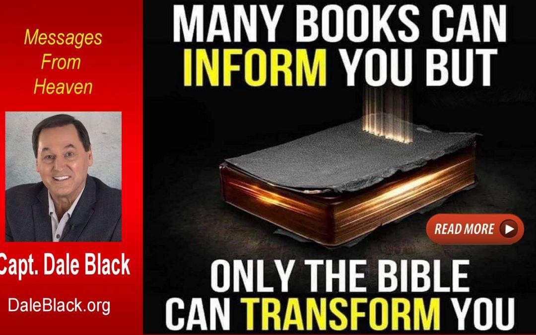 Be Transformed – Dale Black