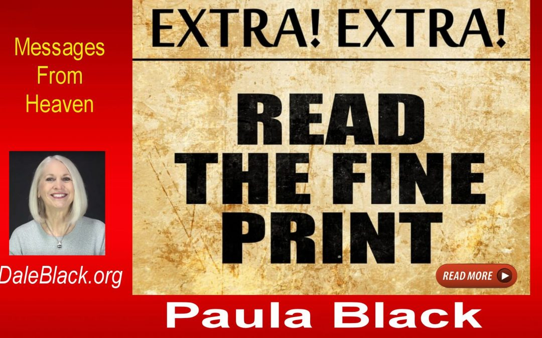 Are You Reading Headlines or Fine Print? – Paula Black
